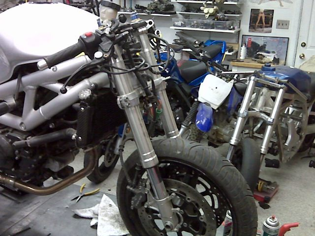 SV (first gen) parting out - GSXR frone end, F3 Rear wheel, etc
